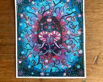 Sticker Decal Art Print