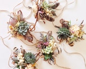 Succulent Corsage // Wildflower