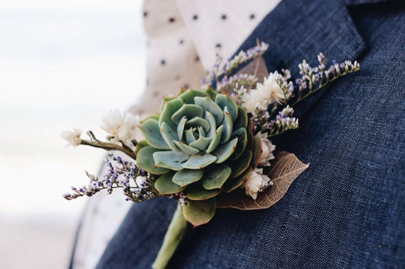 Image result for succulents boutonniere