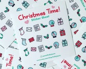 Christmas Time Sticker Sheet