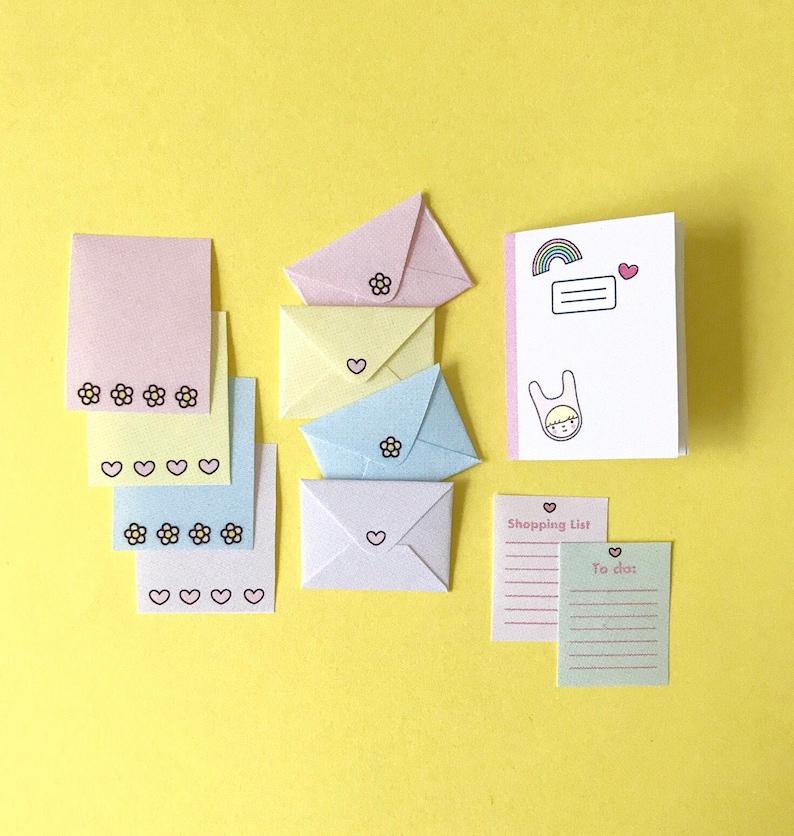 Mini Stationery Printable image 0