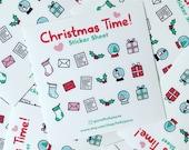 Christmas Time Sticker Sheet