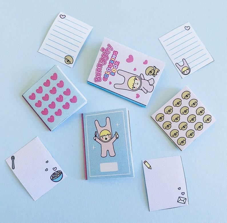 Bunnygirl Mini Stationery Printable image 0