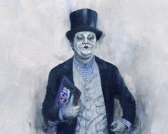 He Wears It 033 - The Joker wears Angelo Flaccavento's style (Original Paintings)