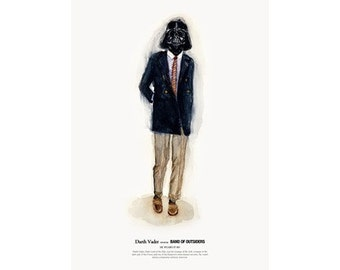He Wears It 001 - Darth Vader wears BAND OF OUTSIDERS