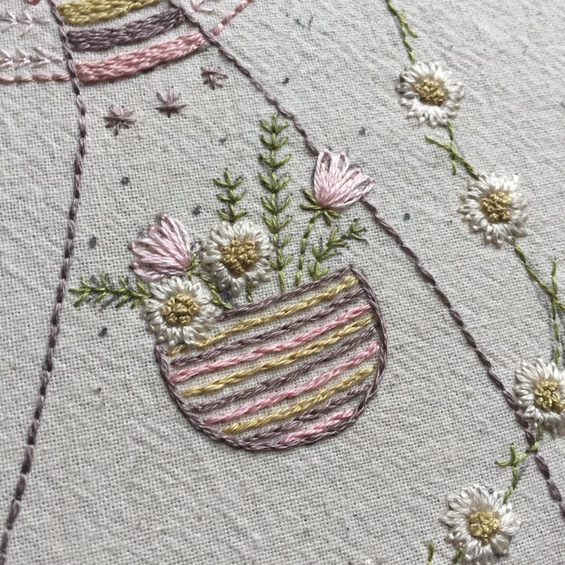 Find beauty lilipopo embroidery pattern PDF