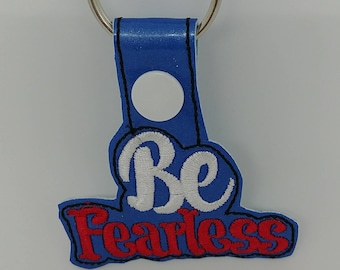 Be Fearless snaptab