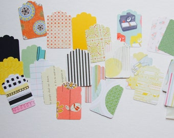 Shipping Hang Tag Label . 20 Shaped Paper Die Cuts . Hangtags Tags Scrapbooking Planner Supplies Listers Gotta List Mini Album Supplies