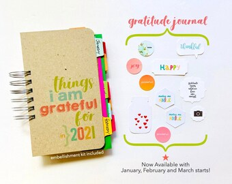 Gratitude Journal, Thankfulness Book, Things I Am Grateful For Notebook, Blessings Book, Joy and Happiness, Positivite Mindset Journal Diary
