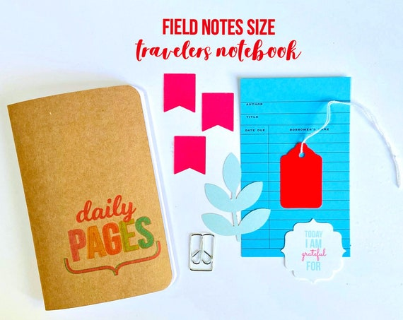 Travelers Notebook Insert, Field Notes Insert, TN Refill Inserts, Daily Pages, Planner Insert, Midori Travellers Notebook, Journal Insert