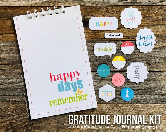 Gratitude Journal, One Line A Day Journal, Thankful Notebook, Mindfulness, Mindset Journal, Thankfulness, Grateful, Happy Days to Remember