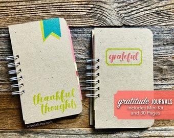 Gratitude Journal,  Positivity Journal, Thankful Thoughts Book, Grateful Notebook, Thankfulness Diary, Thankful and Grateful, Mindset Book