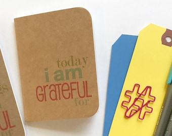 Today I am Grateful For, Gratitude Journal, Thankful Journal, Mindfulness, Travelers Notebook, Midori, Thankful, 365 Things, Thankfulness