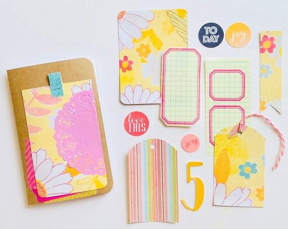 Travelers Notebook Insert, Field Notes TN, Cute Notebook, Travelers Notebook Kit, Midori Beginners Kit, Journal Notebook, Refill Insert