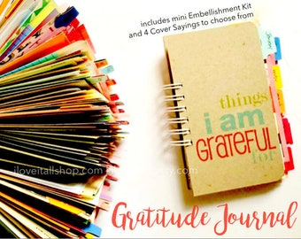 Thankful Journal, Gratitude Journal, 365 Things I Am Grateful For, Notebook, I Am Grateful For, Today I Am Thankful, Things Am Grateful For