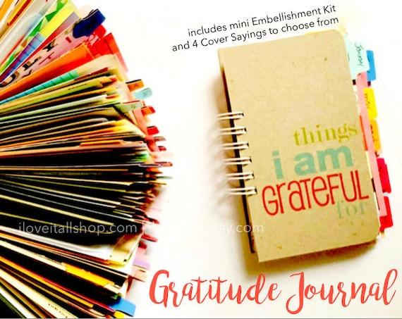 Thankful Journal, Gratitude Journal, 365 Things I Am Grateful For, Notebook, I Am Grateful For, Today I Am Thankful, Things Am Grateful For
