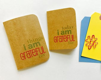 Today I am Grateful For, Things I Am Grateful For, Gratitude Journal, Thankful Journal, Mindfulness Diary, Travelers Notebook, 365 Things