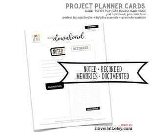 PRINTABLE | journal card