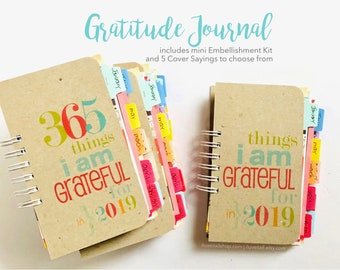 Gratitude Journal, Thankful Journal, Grateful Journal, Gratitude Book, Things I Am Grateful For, 365 Things, I Am Grateful For, Thankfulness