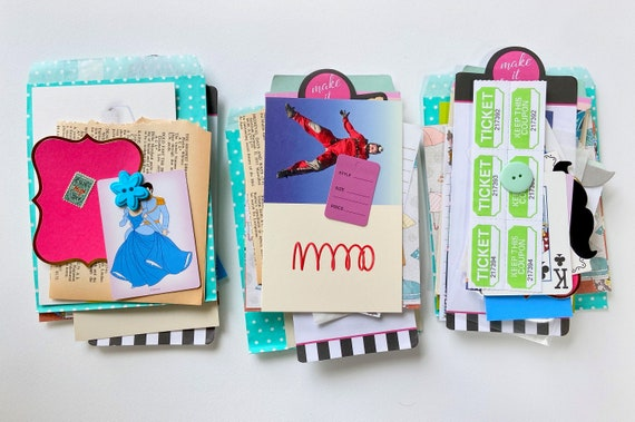 Ephemera Kit, Paper Collection, Tags, Junk Journaling, Journaling Cards, Labels, Paper Ephemera, Scrapbooking, Papercrafting Collection