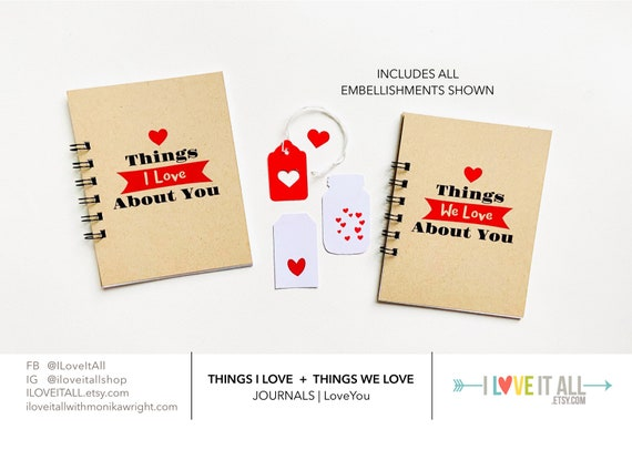Mothers Day, Love Journal, Love Letters, Things We Love, Things I Love About You, We Love You, Paper Anniversary, Deployment, Romantic Gift