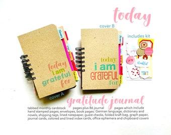 NEW 2022 Today Journal, I Am Grateful, Gratitude Journal, Gratitude Journal, For Mom, Gratitude Notebook, Junk Journal, Mindfulness Journal