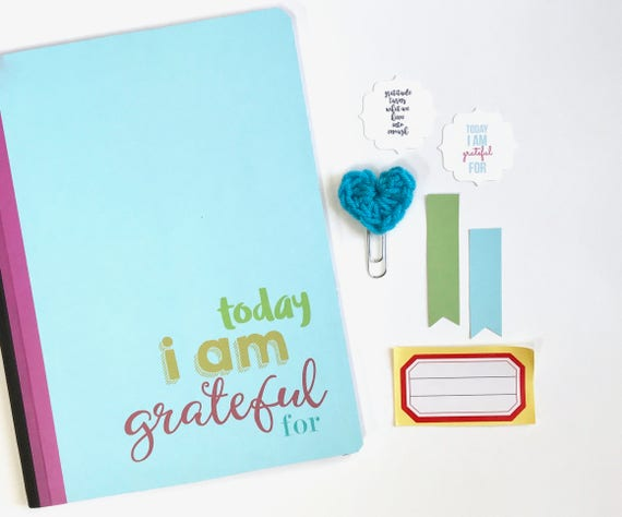 Gratitude Journal, Today Journal, I Am Grateful, Composition Book, Grateful Notebook, Positive Thinking, Thankfulness, Mindfulness, Mindset