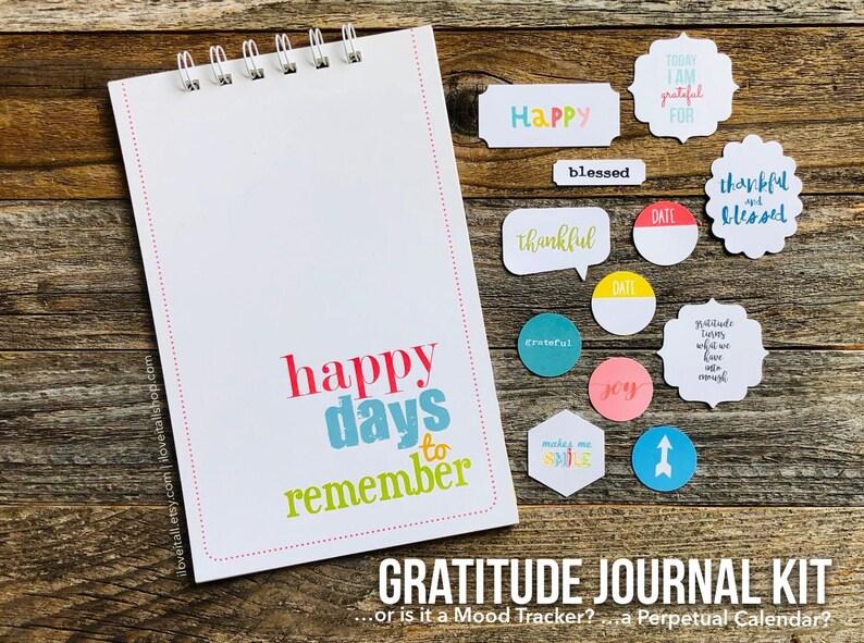 Gratitude Journal One Line A Day Grateful Journal image 0