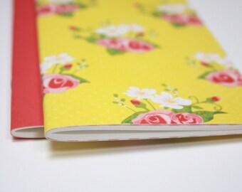 Set of 2 . Flowers Dori Insert Refill Field Notes A6 Travelers Notebook Insert Travel Journal Sketchbook Planner Midori Fauxdori Lists List