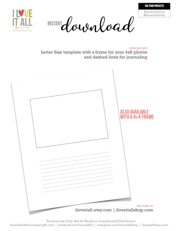 One page Printable Instant Download You Are Amazing Just As You Are!