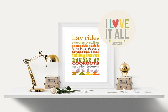 Printable Fall Decor, Sweater Weather, Fall Wall Art, Autumn, Pumpkin Patch, Printable Fall Art, Home Decor, Thanksgiving Wall Art Print