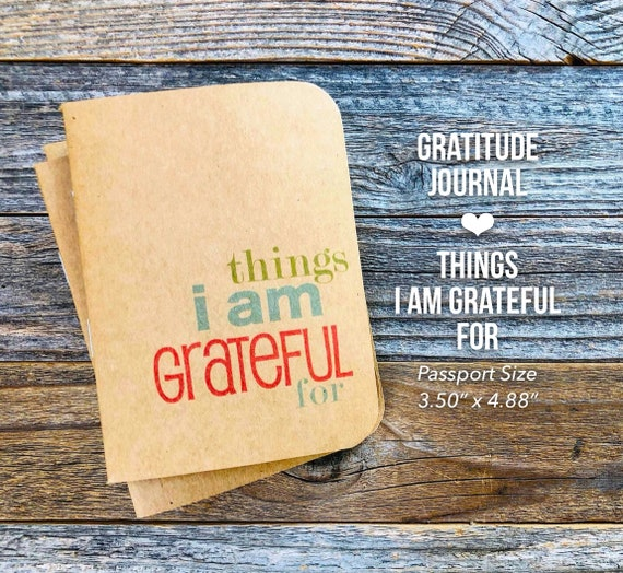 Stocking Stuffer, Today I am Grateful For, Things I Am Grateful For, Gratitude Journal, Thankful Journal, Happiness, 365, Travelers Journal