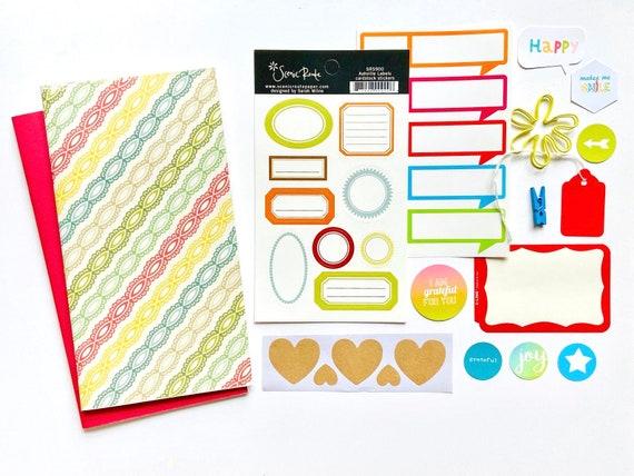 Travelers Notebook Journal, TN Inserts, Refill Insert, Junk Journaling, TN Beginners Kit, Midori, TN Inserts, Travelers Notebook, Planner