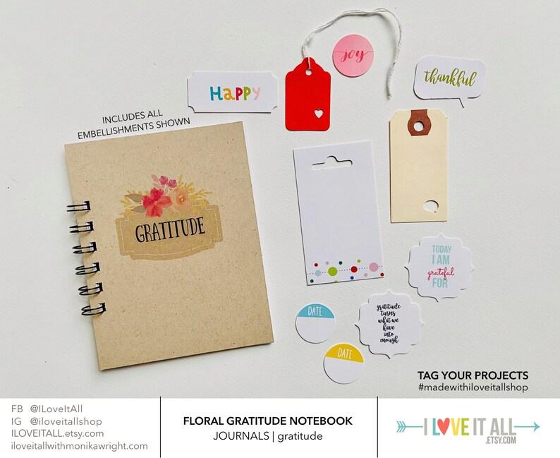 Gratitude Journal Gift For Her For Mom Thankfulness image 0