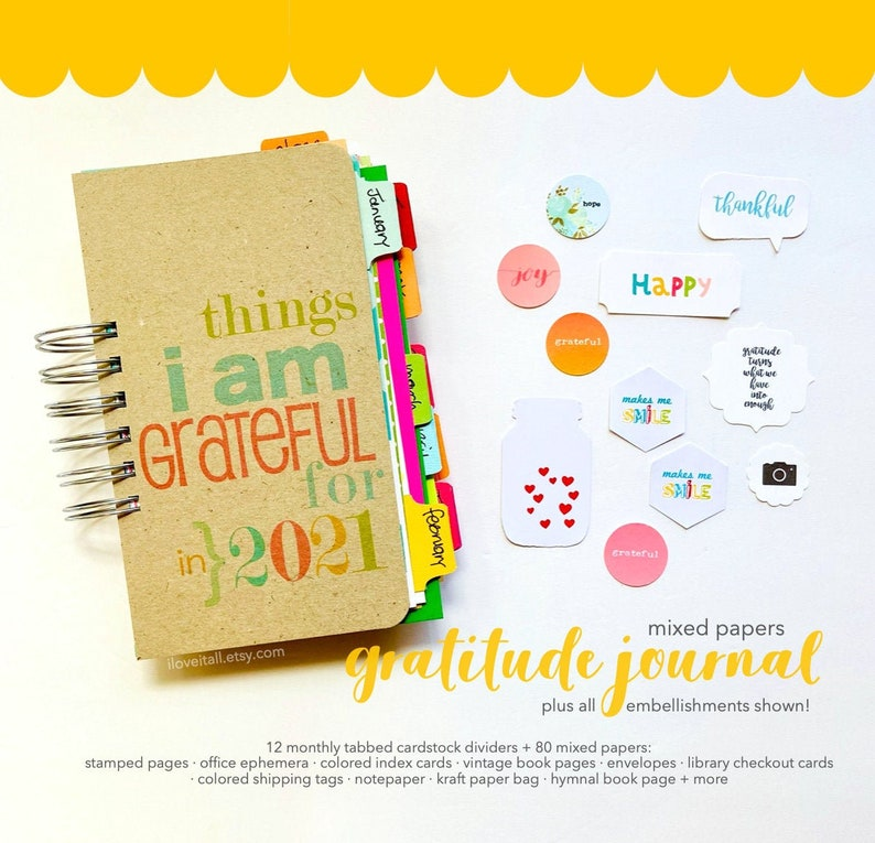 Gratitude Journal Thankful Journal Grateful Journal image 0