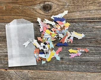 Arrow Die Cut Shapes . Paper Die Cuts . Cardstock Notebook Paper Scrapbooking Art Journaling . Card Making Cardmaking . Mini Album . Planner