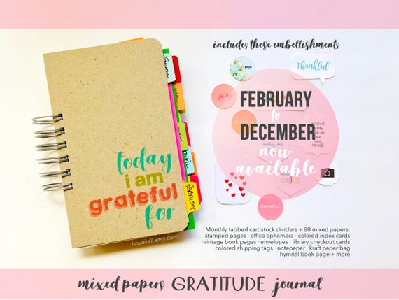 Today I Am Grateful Gratitude Journal, Happiness Diary, Positivity Notebook, I Am Grateful, Gratitude Notebook, Mindset, Mindfulness Diary