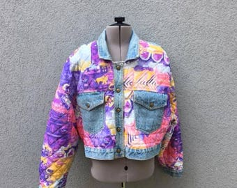 prince denim jacket etsy