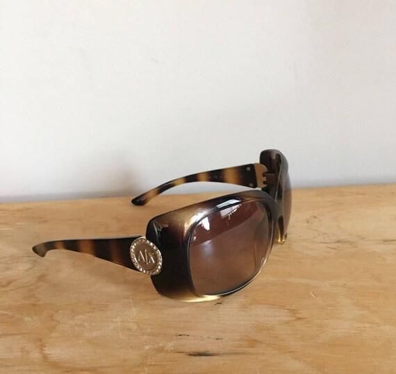 Vintage 90s Armani Exchange Sunglasses, Tortoisesh