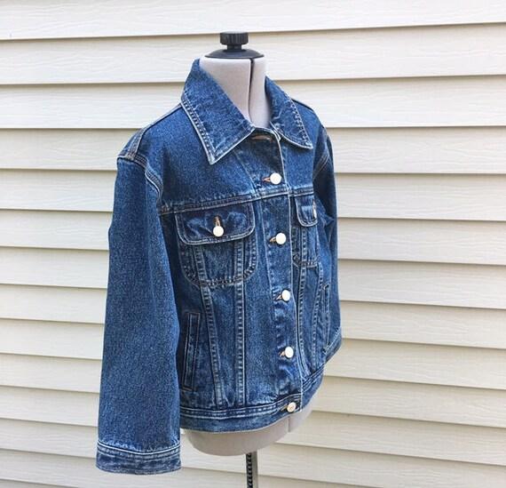 c04896e0 Vintage 90s Tommy Hilfiger Denim Jacket Tommy Jean Jacket | Etsy