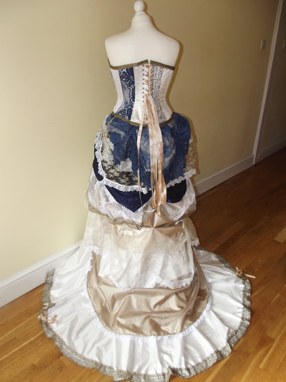 steampunk wedding dress for sale