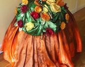 Alternative wedding dress- Boho wedding dress - Boho prom drerss- hippie wedding dresss- hippy wedding dress-MADE TO ORDER
