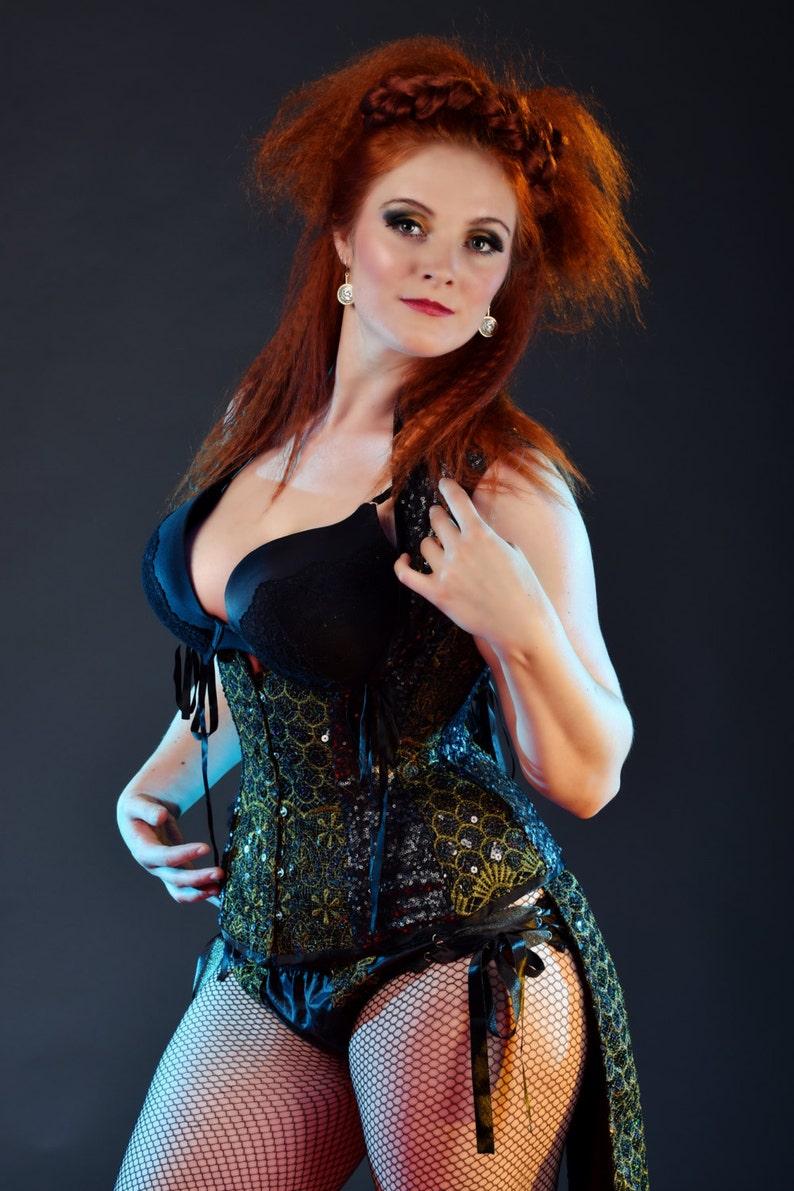 0d07aaf85f SALE item. Under bust waistcoat asylum corset UK 12-14