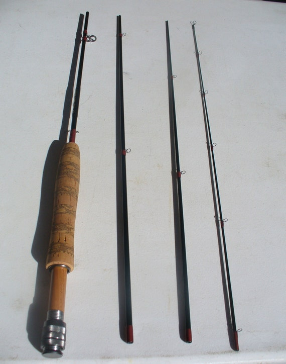 "7'6"" 4 piece 4 weight fly rod"