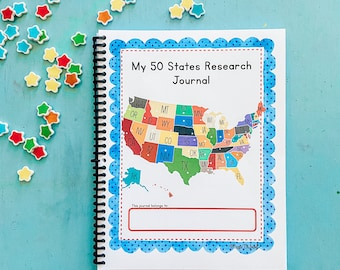 50 States Research Journal