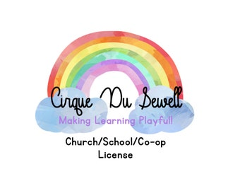 Church/School/Co-op Extended Print License