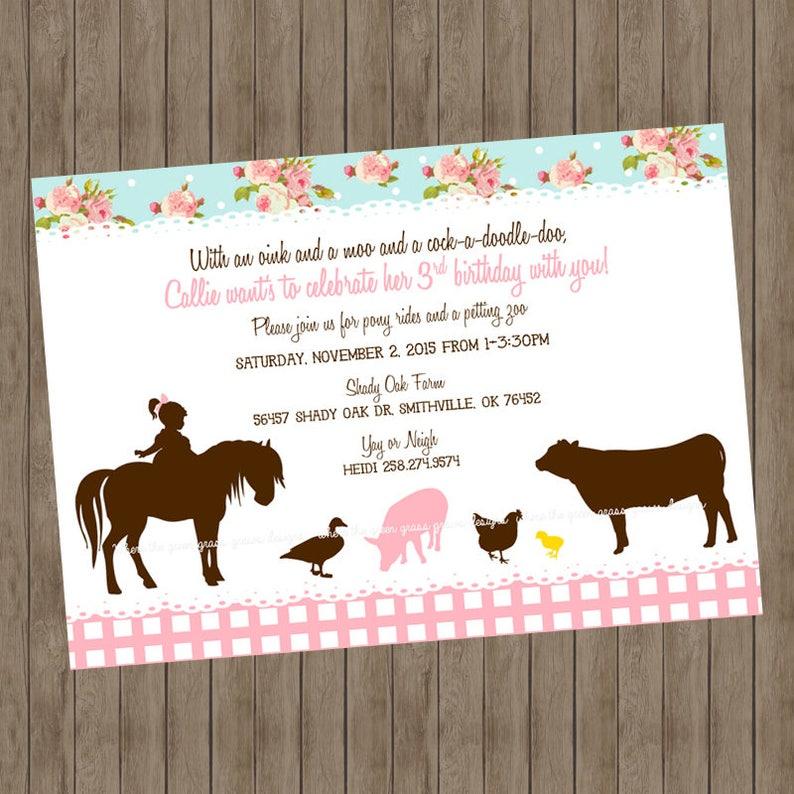 Shabby Chic Farm Banner Bunting