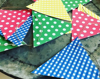 Tricycle Party Banner Flags