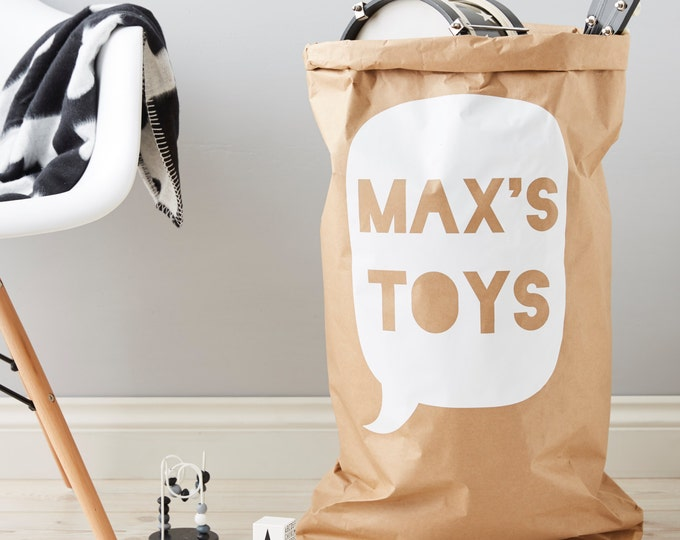 Personalised Children's Toy Sack