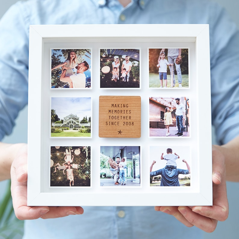 Personalised Framed Photo Print For Him image 0